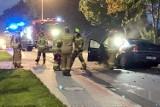 Straszny wypadek w Łodygowicach. Samochód osobowy roztrzaskał się na drzewie