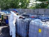 Bomba ekologiczna w Mikołowie. W czterech lokalizacjach znaleziono aż 115 tys. litrów niebezpiecznych substancji.
