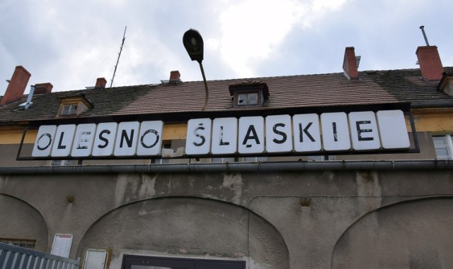 Remont dworca PKP Olesno Śląskie