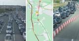 Korek na bramkach na A1 w Rusocinie. Kierowcy muszą odstać od 15 do 30 min. Kamery online AmberOne i GDDKiA