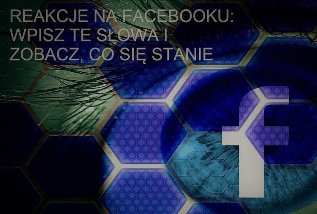 Facebookowe reakcje w komentarzach i kolorowe animacje - zobacz na kolejnych slajdach.