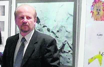 artysta malarz, szef tyskiej galerii Obok