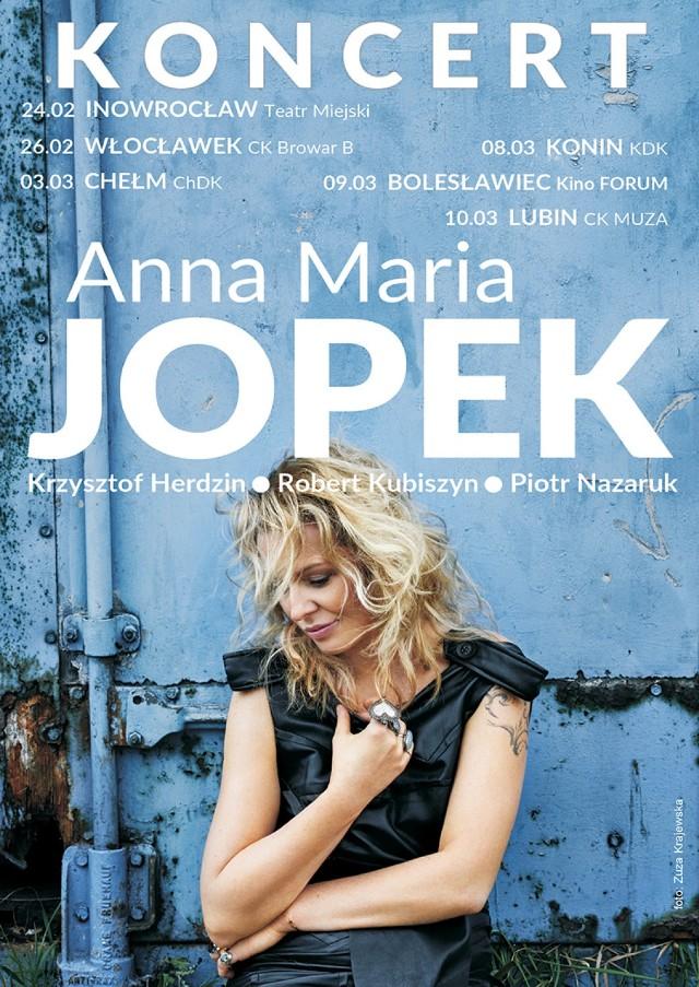 Anna Maria Jopek odwiedzi Lubin. Koncert już w marcu