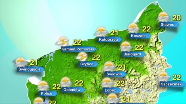 Poniedziałek w naszym regionie zapowiada się ciepło i słonecznie