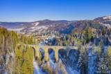 Piękna zima w Beskidach. Oto zdjęcia z drona Wisły, Szczyrku, Istebnej. Zobacz niezwykłe fotografie Roberta Neumanna z From the Sky