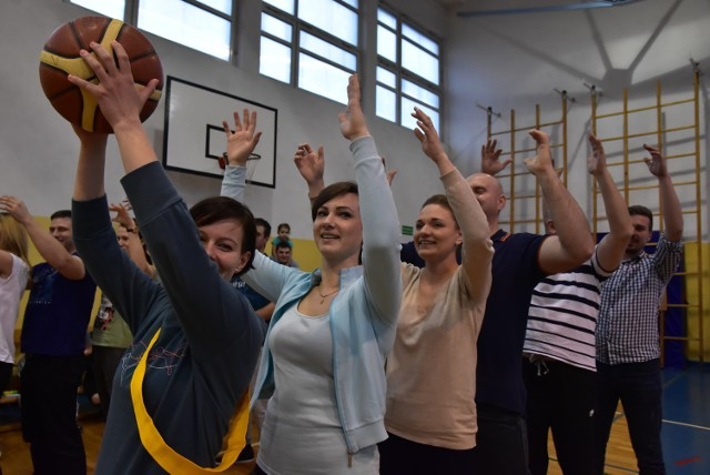 Olimpiada przedszkolaków w Gimnazjum nr 1 w Bielsku Podlaskim