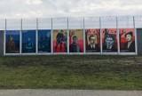 Na murach zakładów karnych w Lubelskiem powstały murale ku czci Żołnierzy Wyklętych. Zobacz zdjęcia