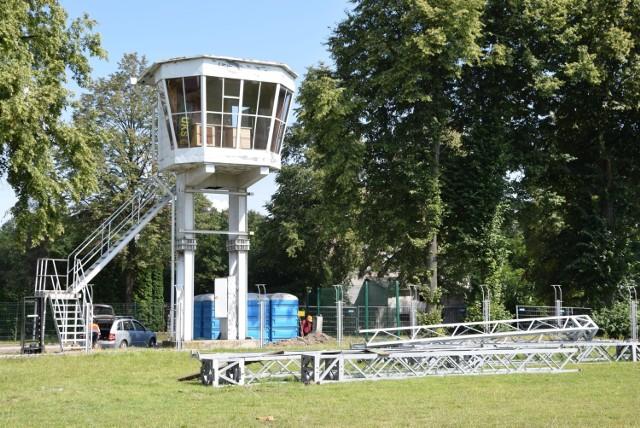 Stary stadion Rakowa został już praktycznie rozebrany. Została tylko wieża i część trybun