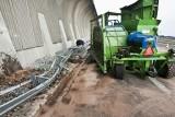 Wrocław: Zderzenie ciągnika z ciężarówką na AOW (ZDJĘCIA)