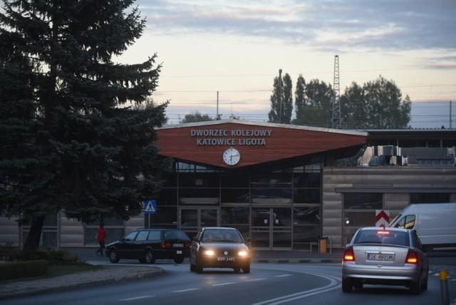 Dworzec w Katowicach Ligocie