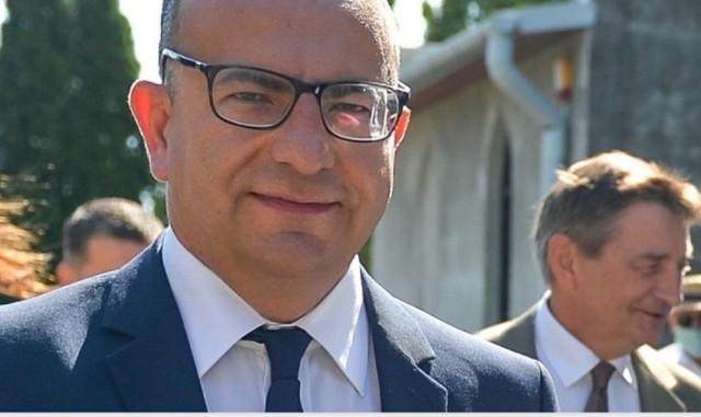 Tomasz Szeleszczuk, wójt gminy Żurawica.