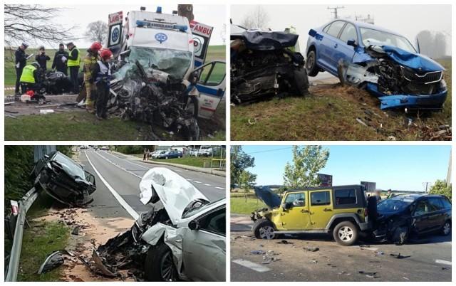 W ostatnich latach na drodze krajowej 21 dochodziło do wielu kolizji i wypadków. Niestety także śmiertelnych. Prezentujemy niebezpieczne zdarzenia drogowe z często uczęszczanej trasy Słupsk - Ustka. Ku przestrodze!  >>>>>>>>>>