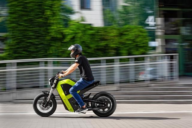 Falectra. Pierwszy polski motocykl elektryczny powstał w Warszawie