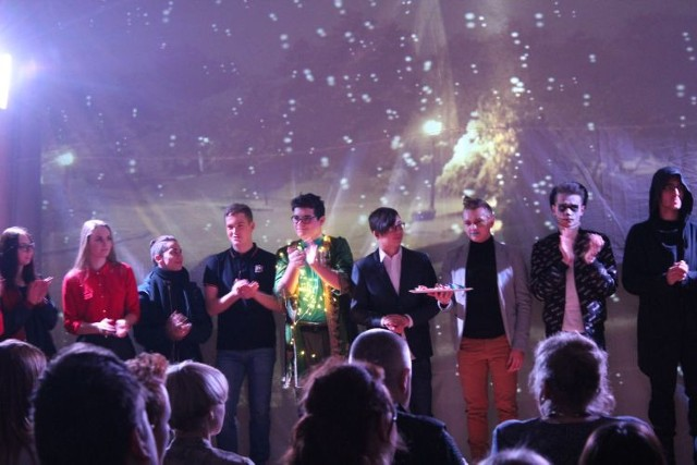 Opowieść Wigilijna w wykonaniu uczniów ZSZ Wolsztyn
