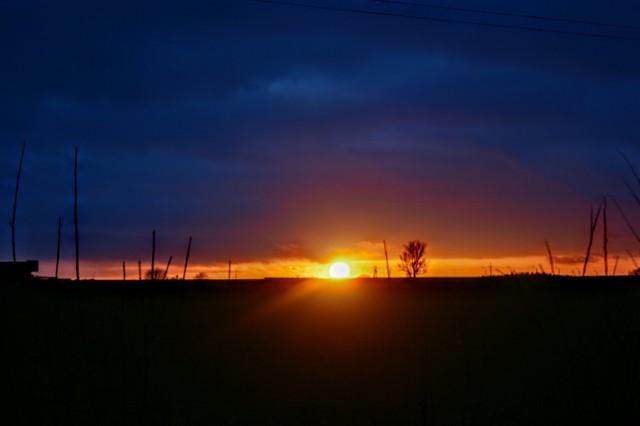 Foto powiat pucki: Władysławowo - zachód słońca