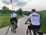 W Tucholi bezpieczeństwa w wakacje będą pilnować policjanci na rowerach [zdjęcia]