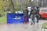Po tragedii w parku w Kielcach policjanci szukają świadków