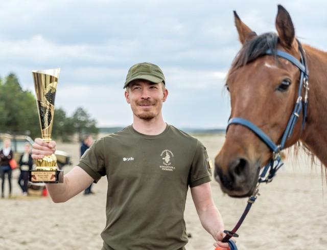 Na Pustyni Błędowskiej odbyły się rajdy konne, będące kwalifikacją do mistrzostw Polski juniorów młodszych i młodzików