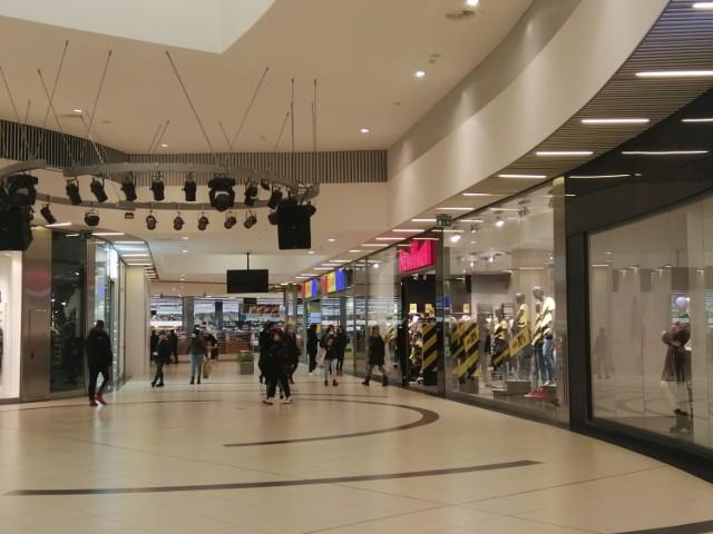 Galerie handlowe znów otwarte, 1.02.2021. Galeria Olimpia w Bełchatowie także jest czynna