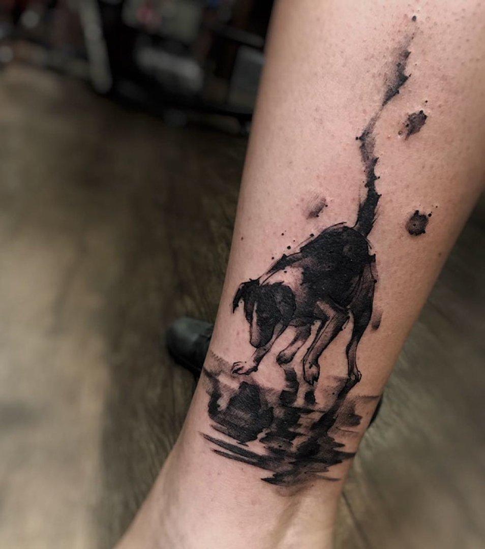 Najlepsze Tatuaże Z Psami Jakie Widzieliście świetne