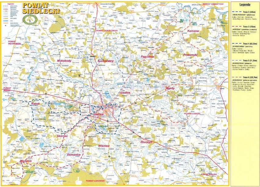 Trasy Rowerowe W Siedlcach Mapy Siedlce Nasze Miasto