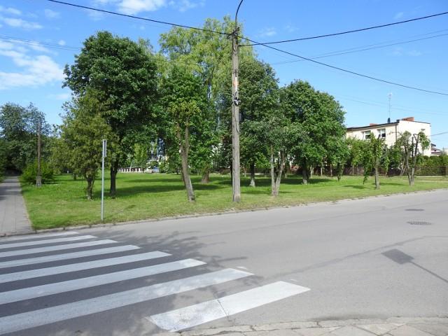 Ul. Rejtana w Bielsku. Właśnie w tym parku mogłoby powstać Podwórko Talentów Nivea