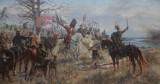 Monumentalne dzieło Witold przysięga zemstę Krzyżakom na tle płonącego Kowna Jana Styki do 14 listopada 2021 r. w Muzeum Łazienki Królewskie