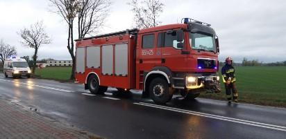 Gmina Września: W Kaczanowie dachował samochód osobowy