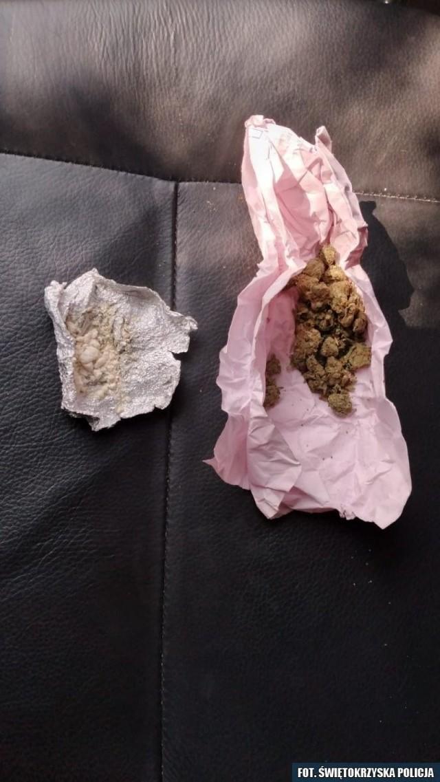 Narkotyki przejęte przez koneckich policjantów