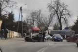 Zderzenie na drodze krajowej 72 w Brzezinach. Uważajcie w tym miejscu!