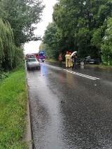 Wypadek w Rydułtowach na Raciborskiej. Jedna osoba ranna