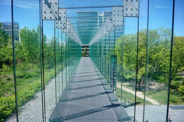 Taras widokowy w CSK został otwarty wcześniej -  na początku maja