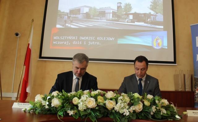 Podpisano umowę na dofinansowanie wolsztyńskiego dworca
