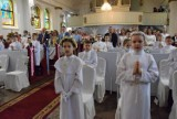 Pruszcz Gdański. Pierwsza Komunia Święta w kościele Matki Boskiej Nieustającej Pomocy |ZDJĘCIA, WIDEO