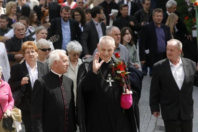 Poczęstunek po ingresie w Legnicy