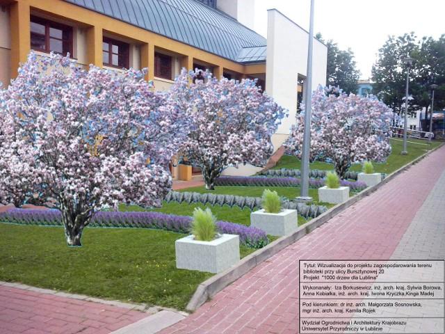 Kolorowa czytelnia na świeżym powietrzu powstanie m.in. przy bibliotece przy ul. Bursztynowej