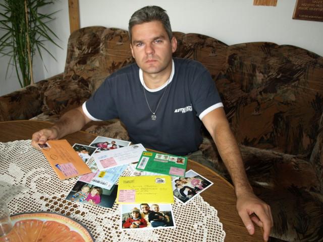 Wojciech Pomorski po siedmiu latach spotkał się z córkami