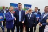Prezydencka kampania wyborcza 2020 na ostatniej prostej - szef PSL w Dąbkach ZDJĘCIA