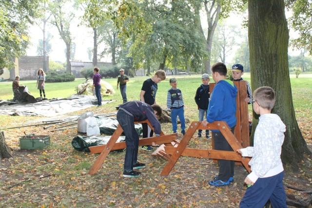 32 Unisławska Drużyna Harcerska zorganizowała spotkanie dla chcących dołączyć do braci harcerskiej oraz grupy zuchów