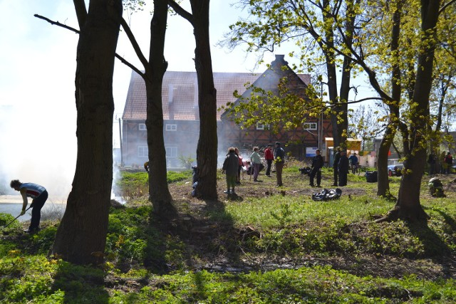 Dzięki mieszkańcom, centrum Miłocina zalśniło nowym blaskiem