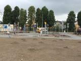 Pleszew. Trwa budowa ekologicznego miasteczka ruchu drogowego