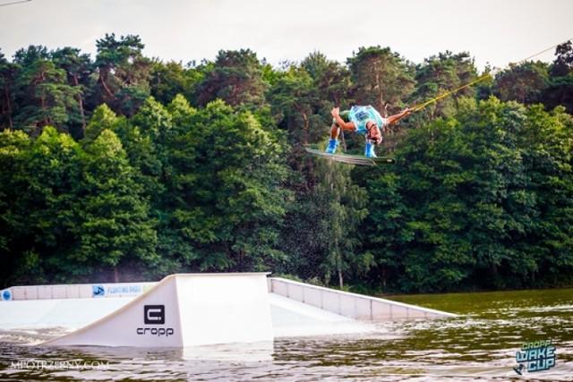 Cropp Wake Cup. Zawody wakeboardowe w Łominkach 17 sierpnia 2014