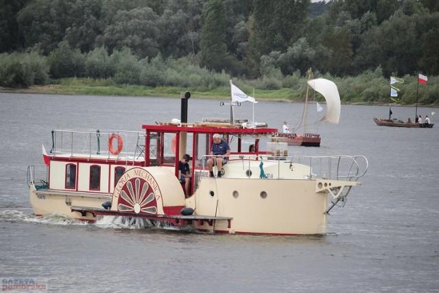 Festiwal Wisły we Włocławku - parada łodzi