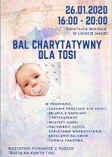 Bal charytatywny dla Tosi już w najbliższą niedzielę