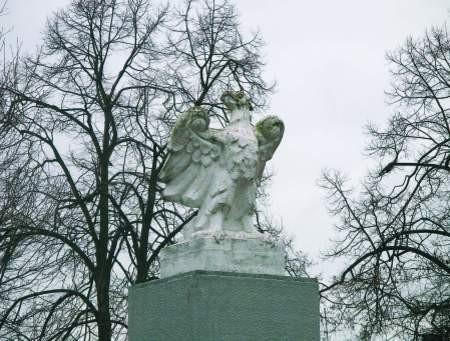 Kontrowersyjnego orła czeka przeprowadzka na rondo. fot. m. węsierski