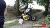 Doły. Wypadek traktorzysty, został przygnieciony przez ciągnik [ZDJĘCIA]