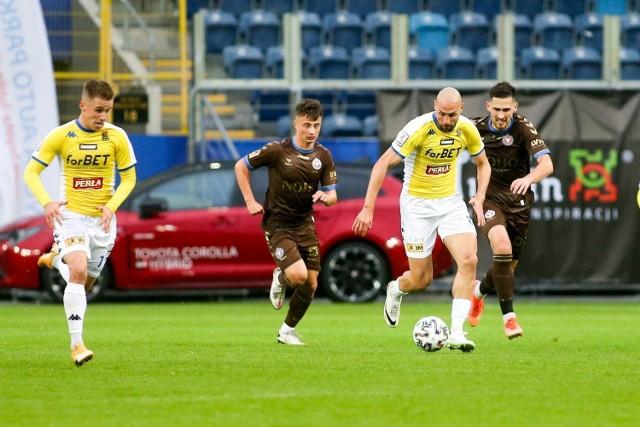 18.09.2021, Lublin: mecz II ligi Motor - Garbarnia Kraków