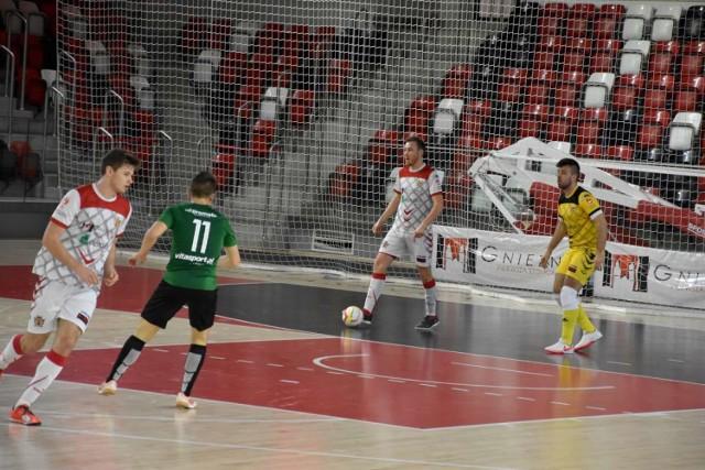 KS Gniezno rywalizował z AZS UW Wilanów w meczu futsalu