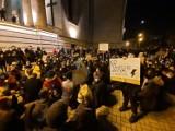 Protest kobiet dziś w Katowicach. Nie zgadzają się z uzasadnieniem wyroku Trybunału Konstytucyjnego w sprawie zakazu aborcji