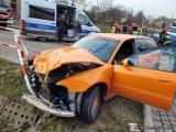 Wypadek w Jastrzębiu: 25-latek z audi nie ustąpił pierwszeństwa. Doszło do poważnego zderzenia z renault. Zobaczcie